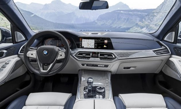 2021 BMW X7 Interior and Infotainment features