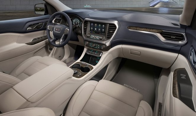 2021 GMC Acadia Interior and Infotainment features