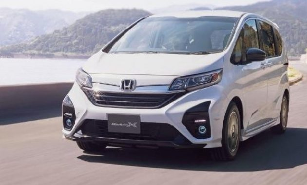 2021 Honda Freed have more power with new engine