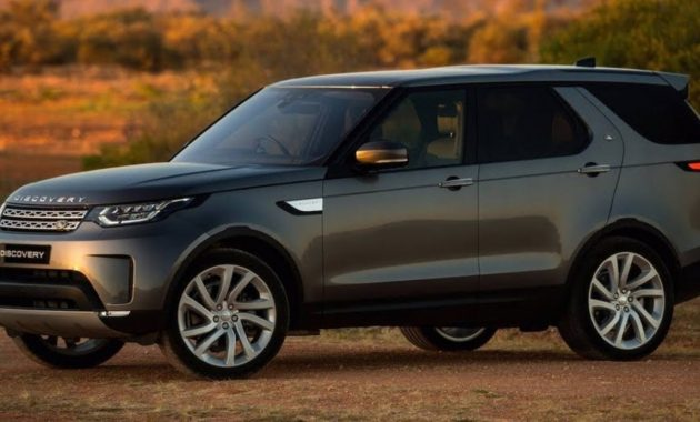 2021 Land Rover Discovery New Exterior Look