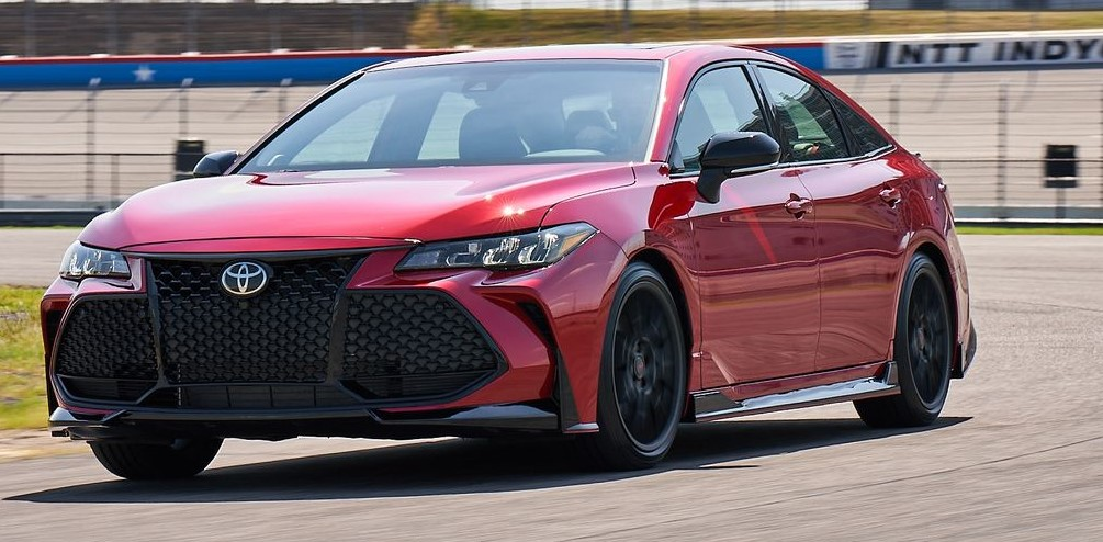 2021 Toyota Avalon TRD with new engine system