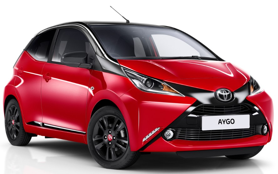 2021 Toyota Aygo front view
