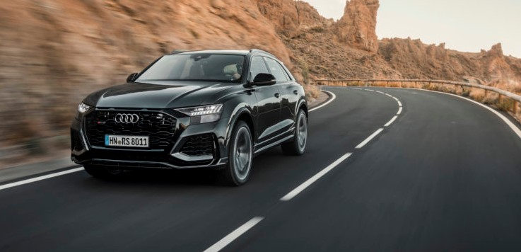 2021 Audi RS Q8 Powered with new engine