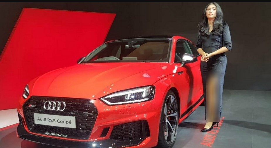 2021 Audi RS5 Coupe at Auto Show