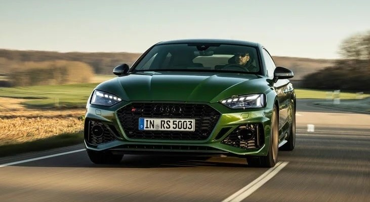 2021 Audi RS5 Powered with new engine