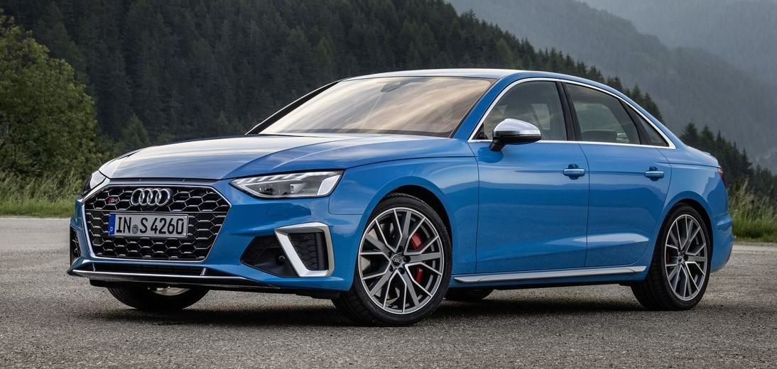 2021 Audi S4 with new exterior layout