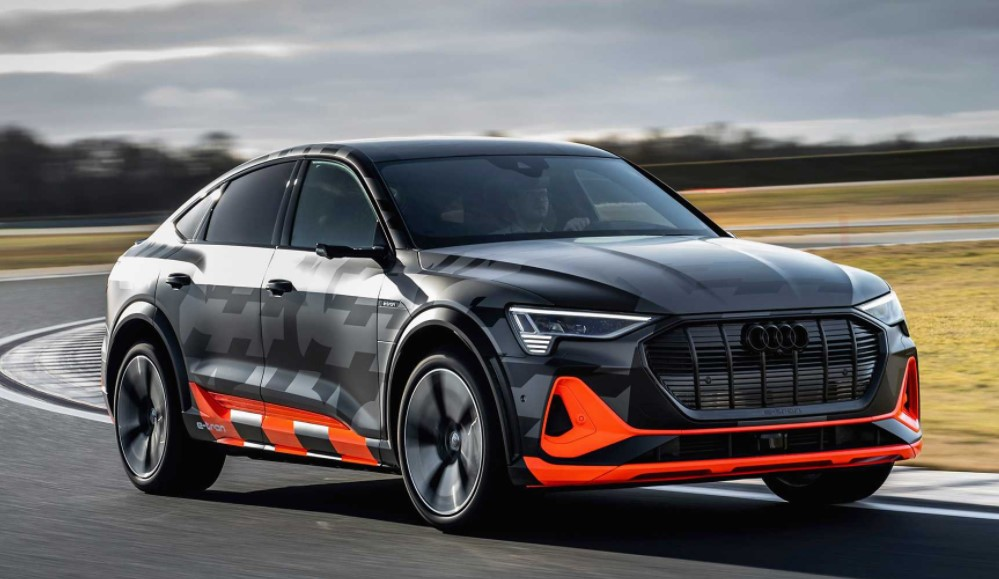 2021 Audi e-Tron Powered with electric engine