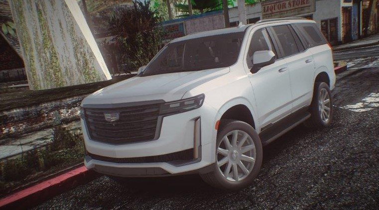 2021 Cadillac Escalade Powered with new engine