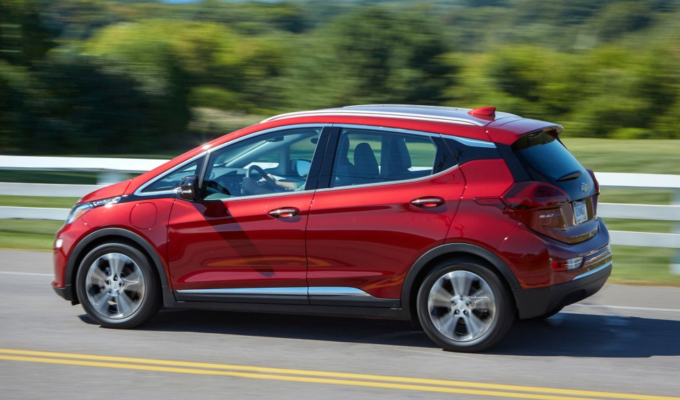 2021 Chevy Bolt Powered by Electric Motor