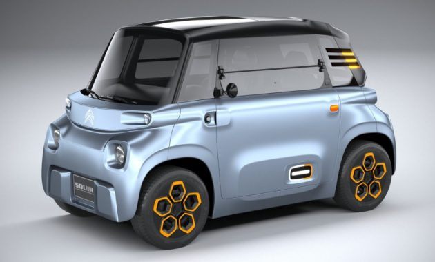 2021 Citroen AMI with new exterior layout