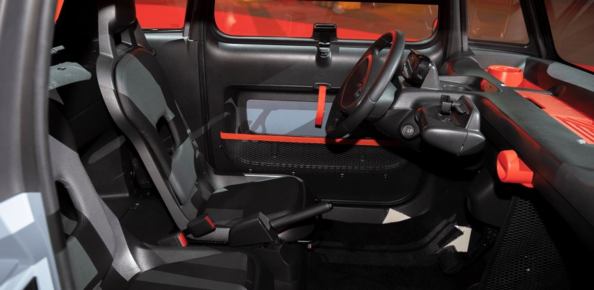 2021 Citroen AMI with new interior layout