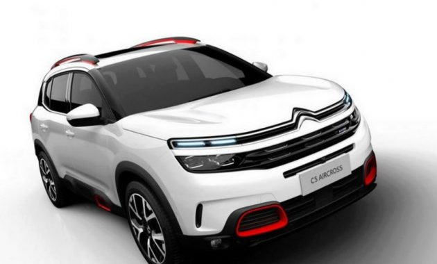 2021 Citroen C5 with new exterior layout