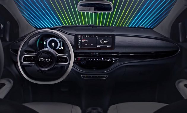 2021 Fiat 500 Dashboard and Features