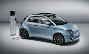 2021 Fiat 500 with new exterior layout