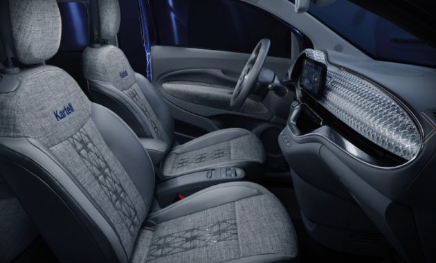 2021 Fiat 500 with new interior layout