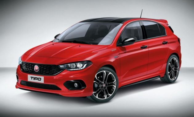 2021 Fiat Tipo with new exterior layout