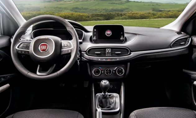 2021 Fiat Tipo with new interior layout