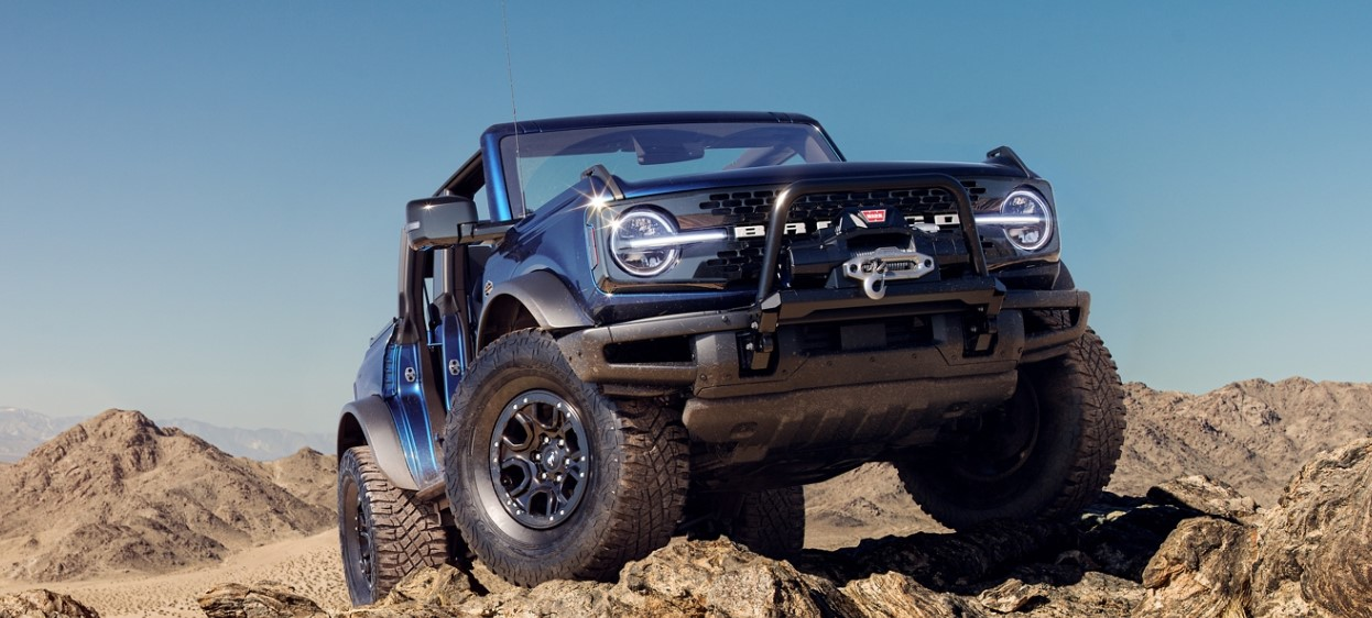 2021 Ford Bronco Powered with new engine system