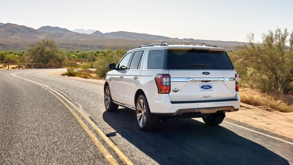 2021 Ford Expedition Powered with new engine