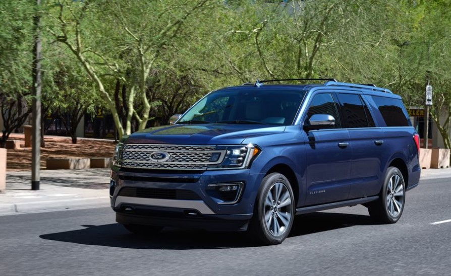 2021 Ford Expedition with new exterior layout