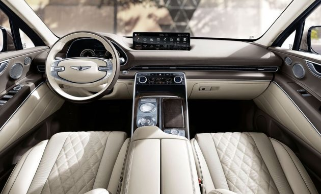 2021 Genesis GV80 Interior Styling and Features