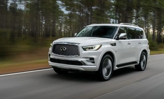 2021 Infiniti QX80 has better performance with new engine system