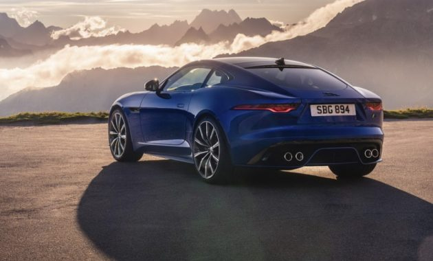 2021 Jaguar F-Type Powered with new engine