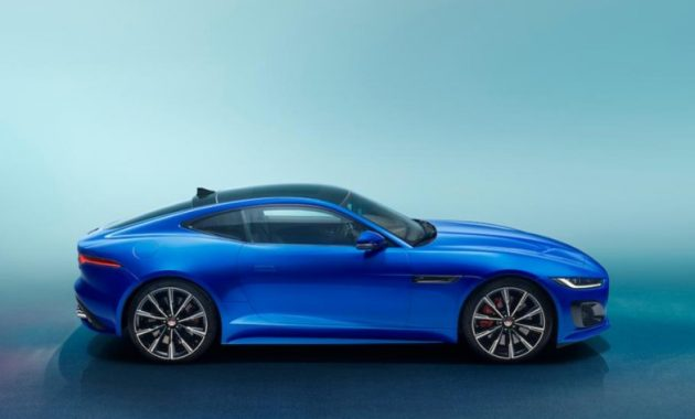 2021 Jaguar F-Type with new exterior layout