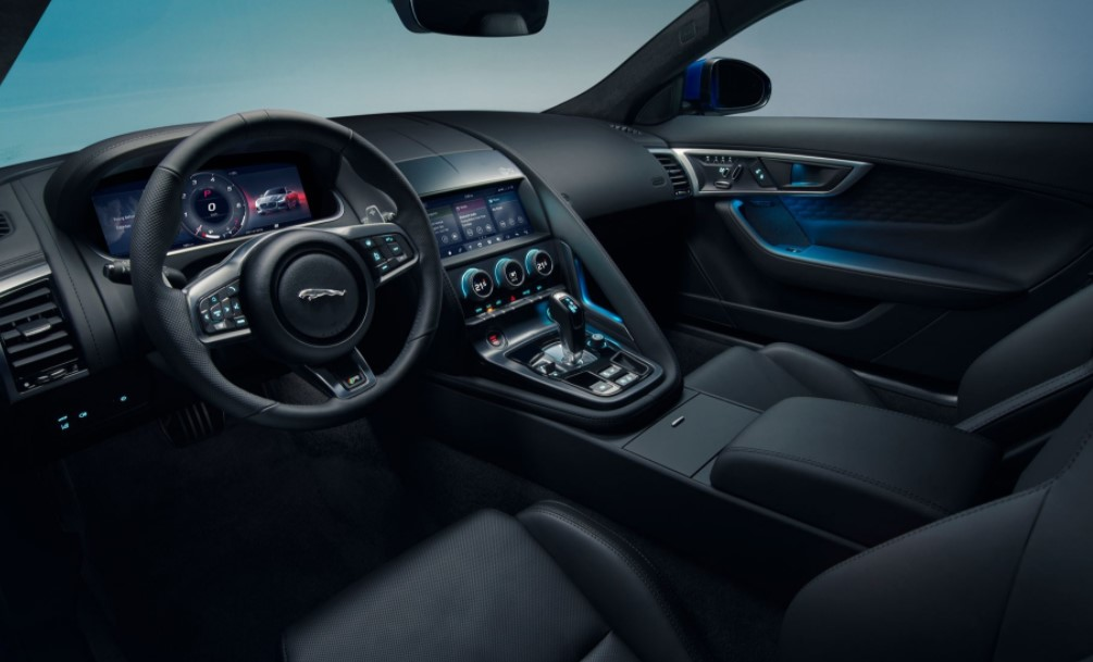 2021 Jaguar F-Type with new interior layout