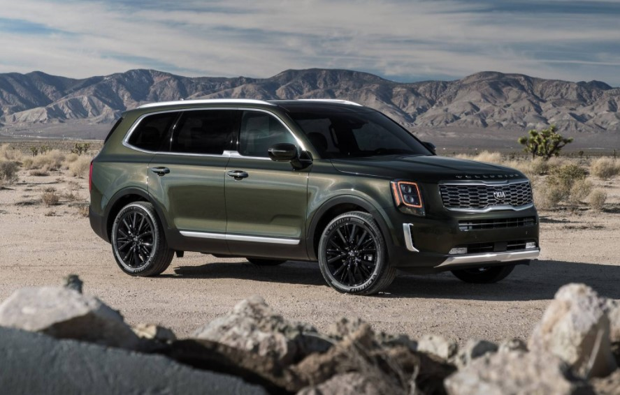 2021 Kia Telluride with new exterior layout