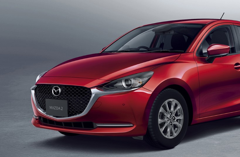 2021 Mazda 2 Front View