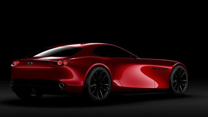 2021 Mazda RX-9 with new exterior look