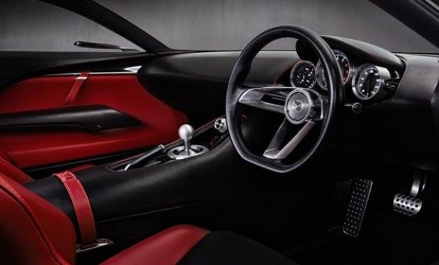 2021 Mazda RX-9 with new interior look