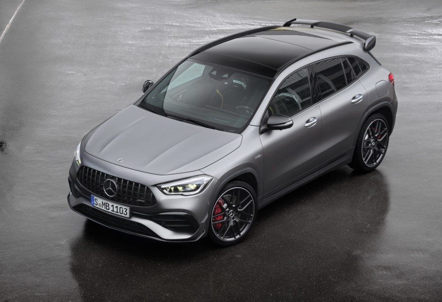 2021 Mercedes AMG GLA with new exterior layout