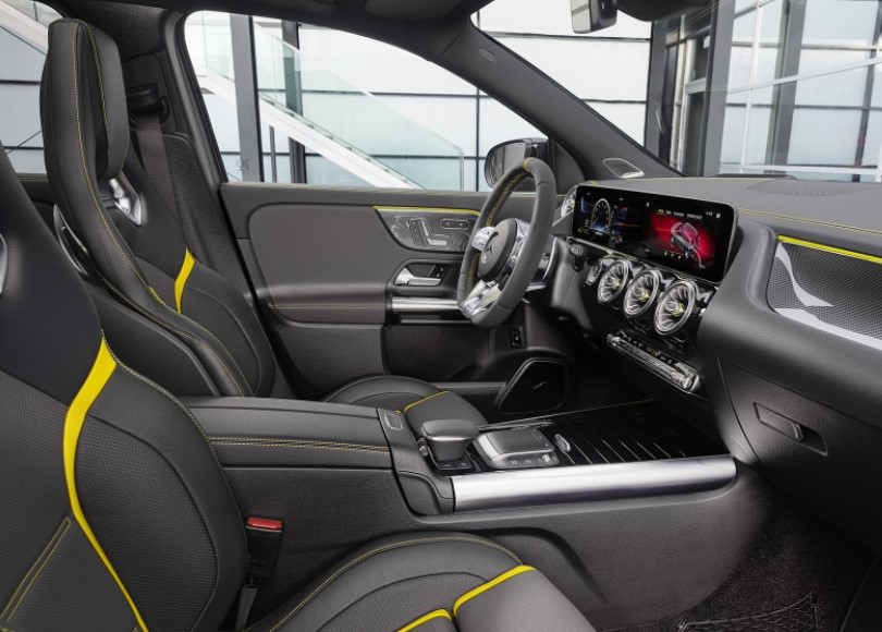 2021 Mercedes AMG GLA with new interior layout