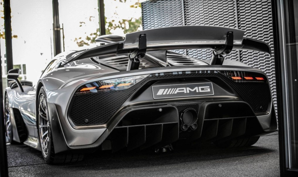 2021 Mercedes-AMG One View from the backside