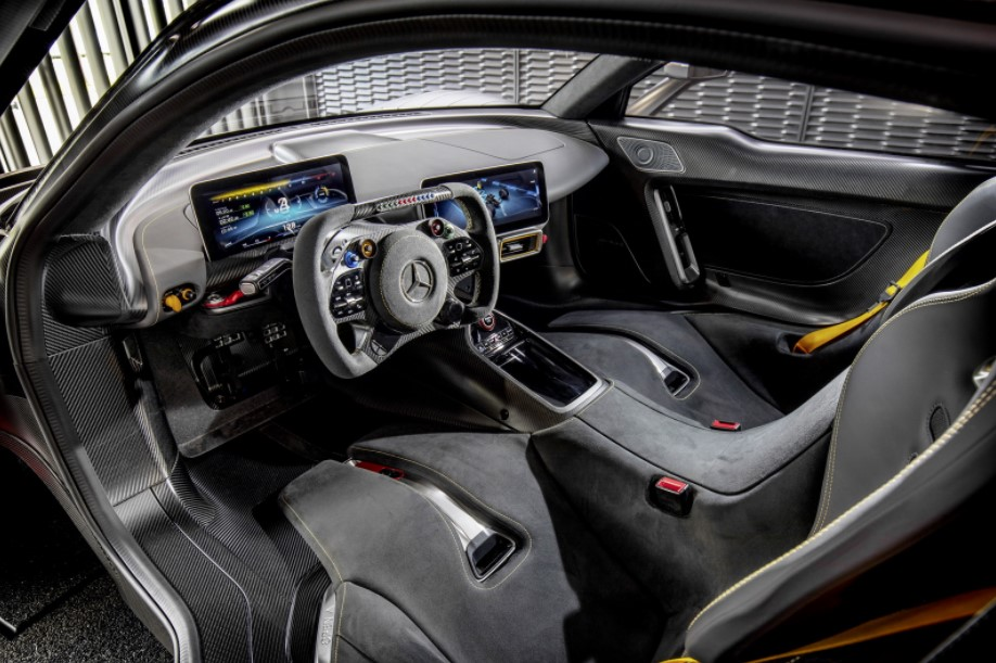 2021 Mercedes-AMG One with new interior layout