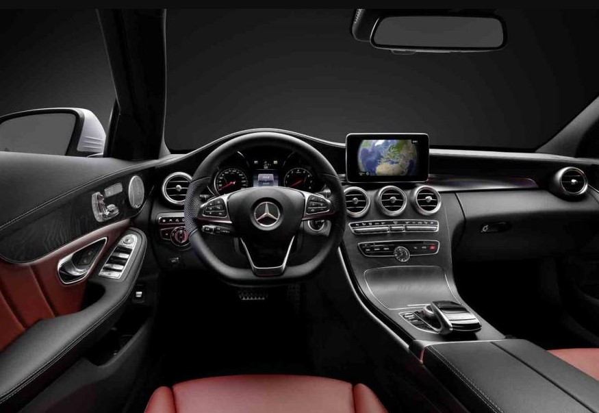 2021 Mercedes C-Class with new interior layout
