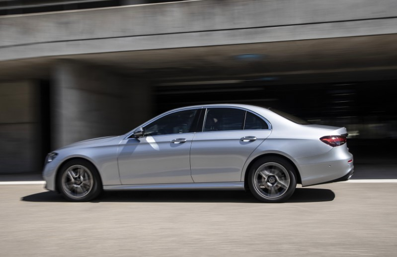 2021 Mercedes E-Class Powered with new engine