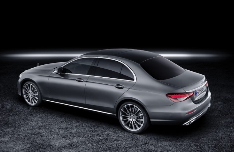 2021 Mercedes E-Class with new exterior layout