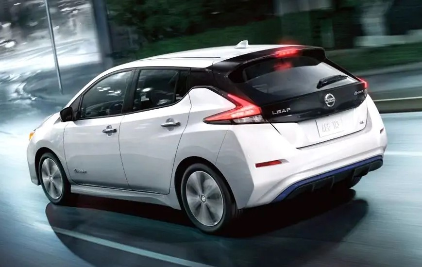2021 Nissan Leaf Powered by Electric Engine