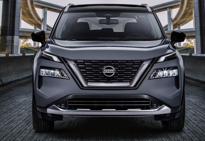 2021 Nissan X-Trail Front View
