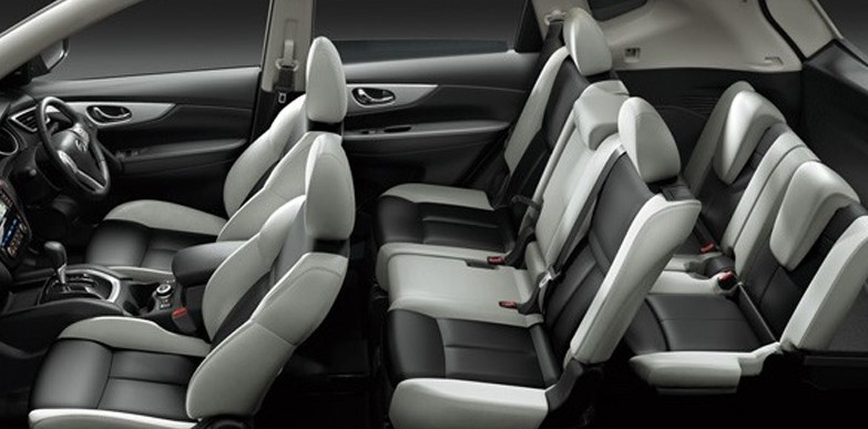 2021 Nissan X-Trail with new interior layout