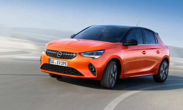 2021 Opel Corsa-e with new exterior layout