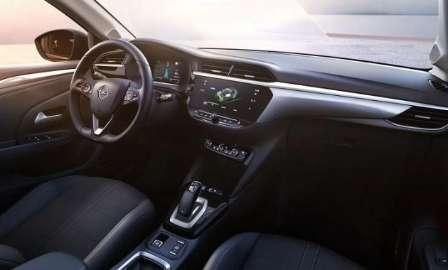 2021 Opel Corsa-e with new interior layout