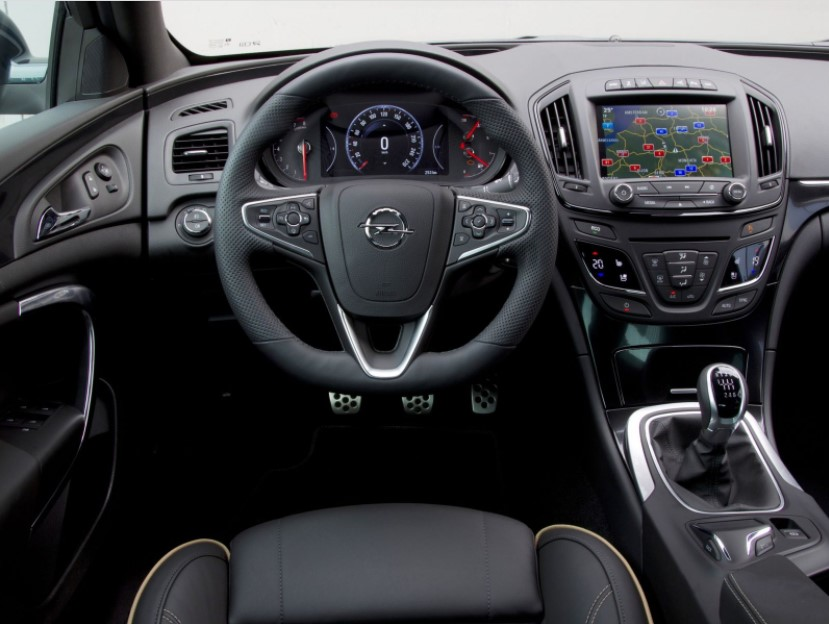 2021 Opel Insignia with new interior layout