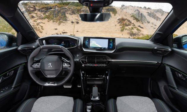 2021 Peugeot 208 Dashboard and Infotainment Features