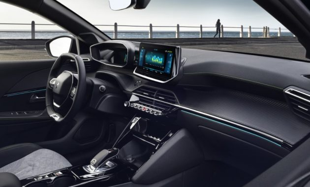 2021 Peugeot 208 with new interior layout