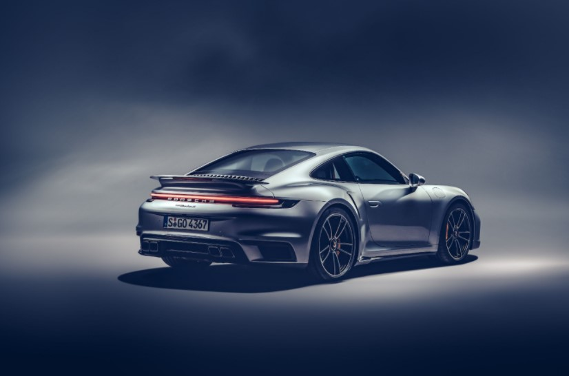 2021 Porsche 911 Turbo S with new exterior layout