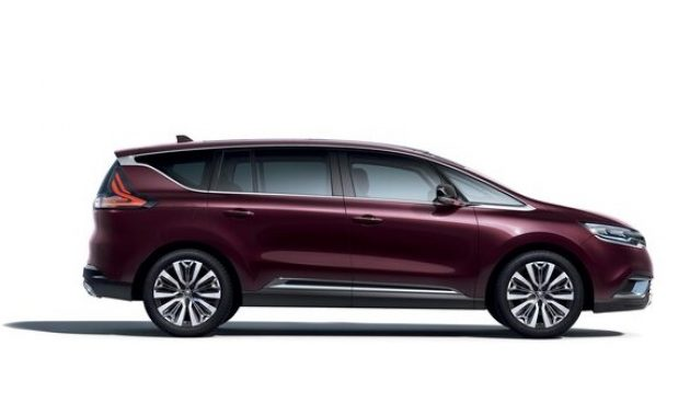2021 Renault Espace Side View
